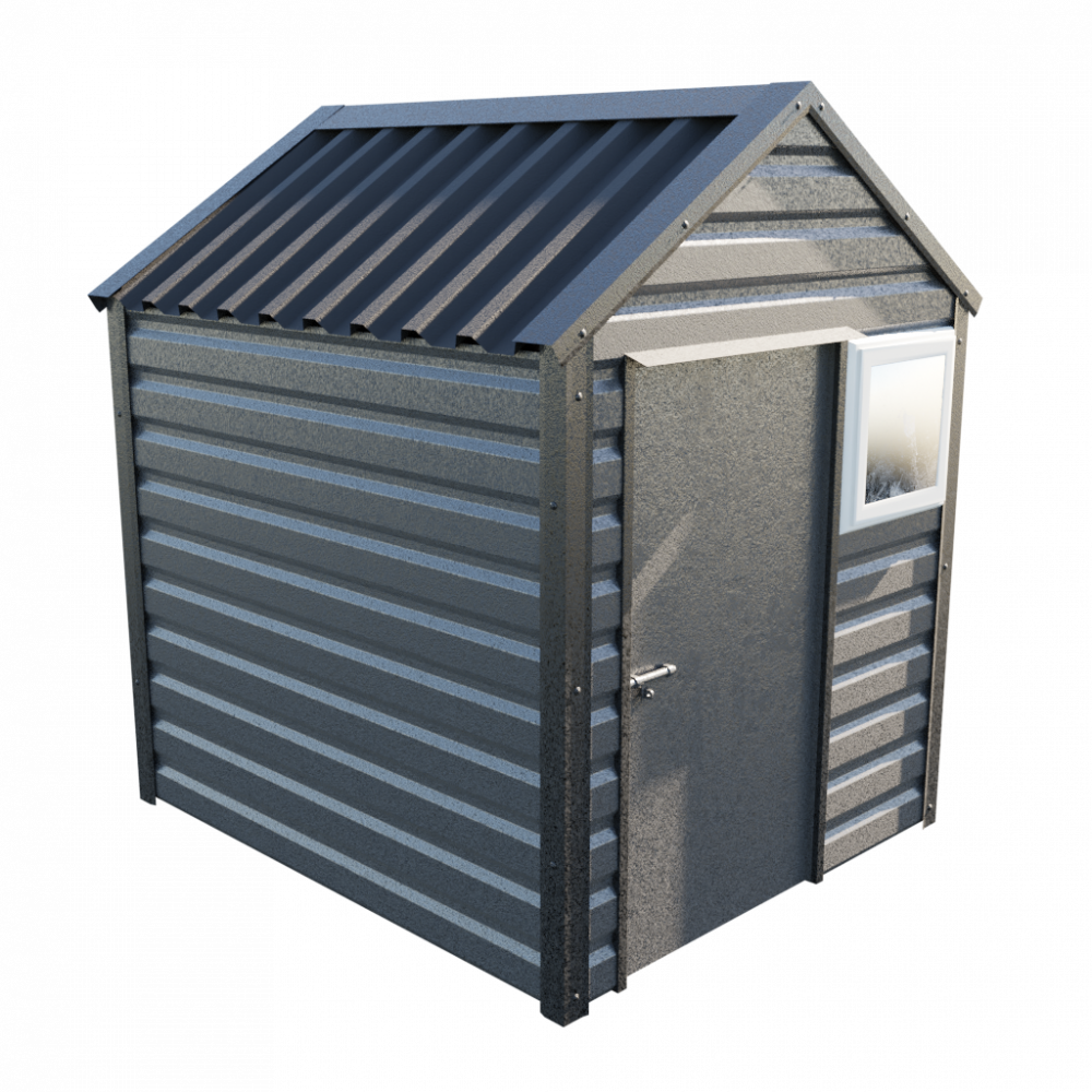 6' x 7' Apex Shed - Anthracite