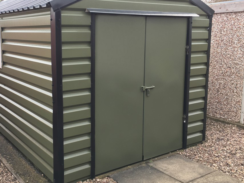 Double doors (6ft/8ft wide shed)