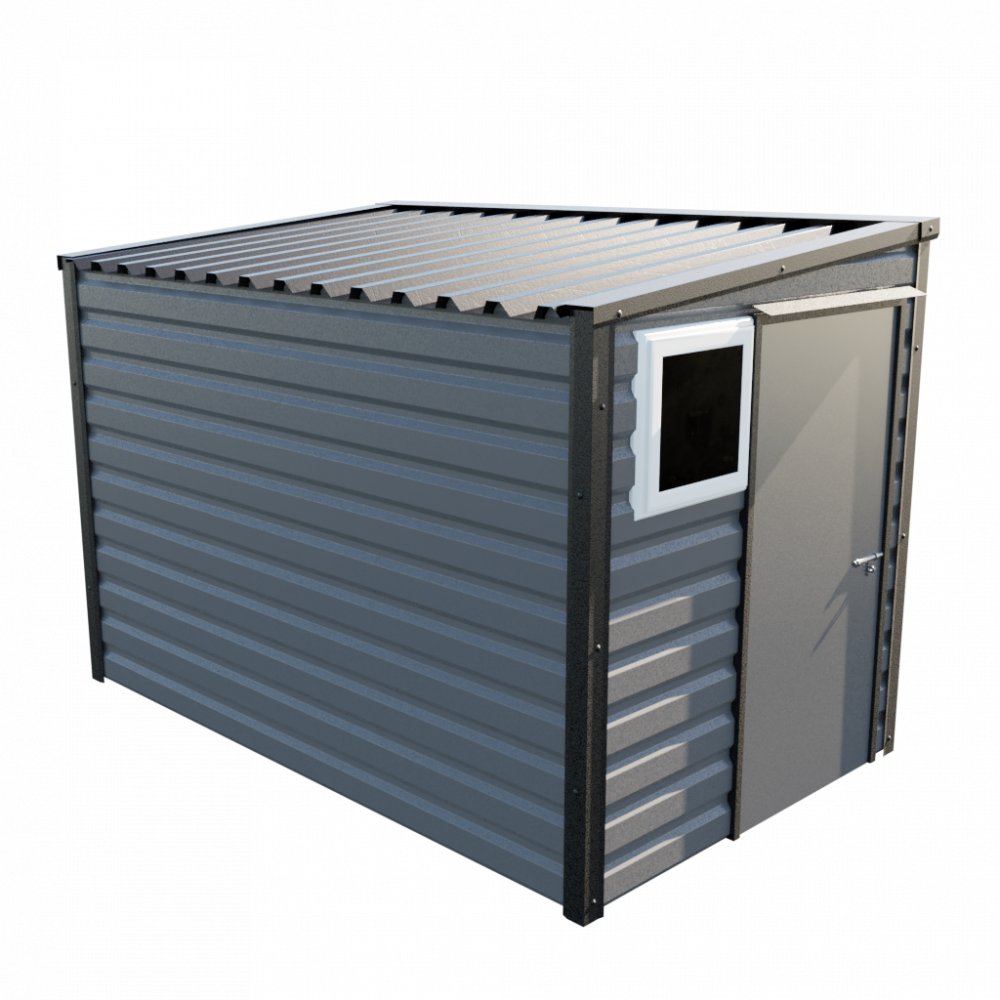 "6' x 10'2"" Pent Shed - Anthracite"