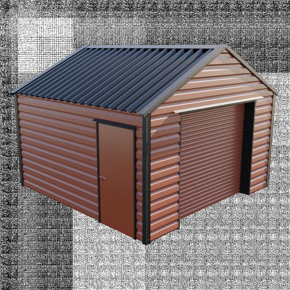 """13' x 13'6"""" Garage - Terracotta"""