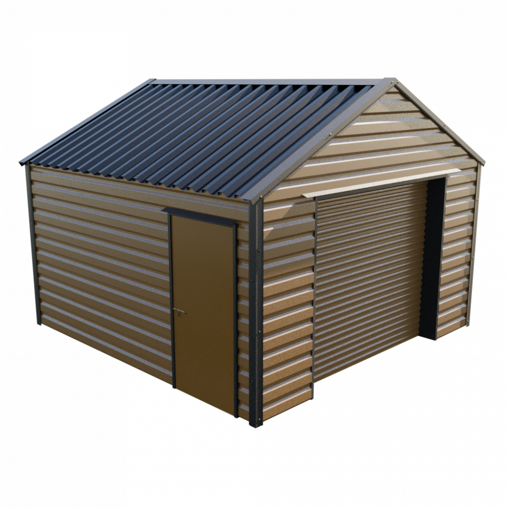 "13' x 13'6"" Garage - Vandyke Brown"