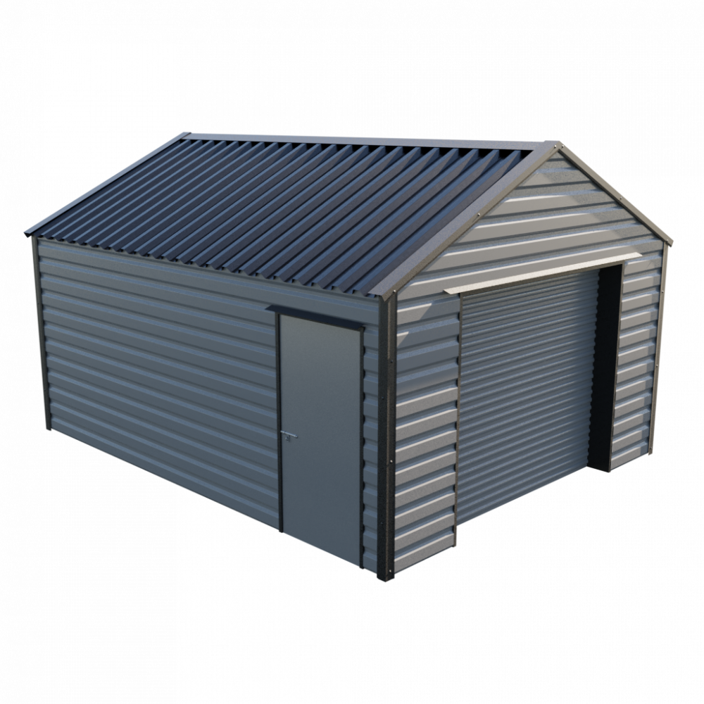"13' x 16'9"" Garage - Anthracite"