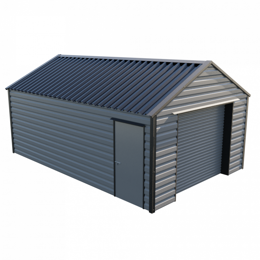 13' x 20' Garage - Anthracite