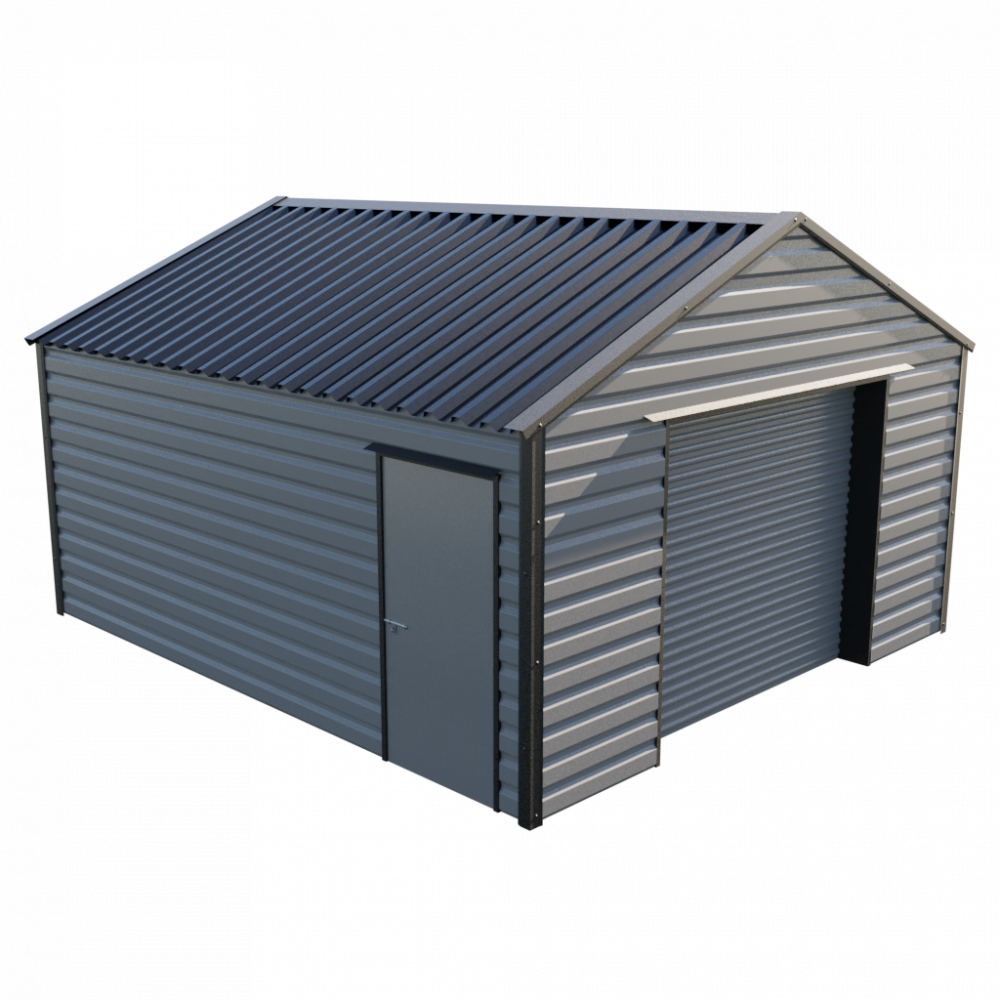 "15' x 16'9"" Garage - Anthracite"