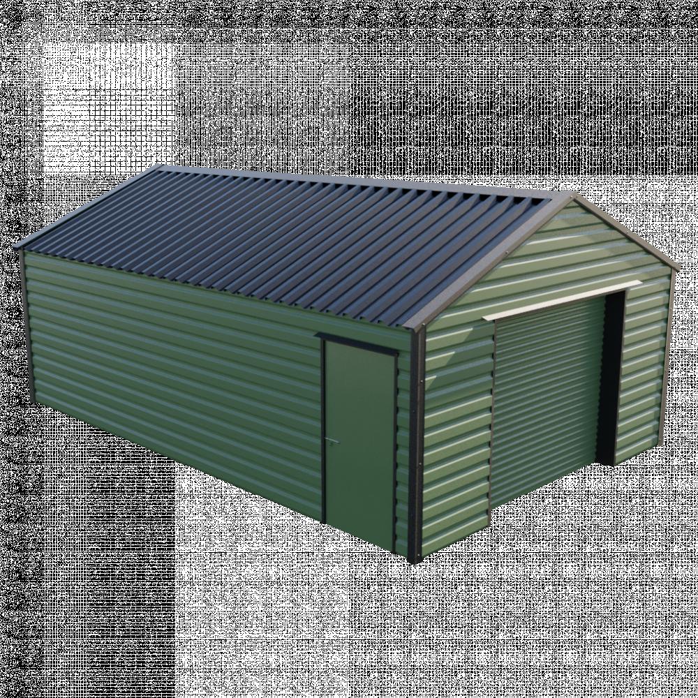 15' x 23'3' Garage - Olive Green